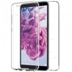 Funda Silicona 3D Huawei Mate 10 Lite (Transparente Frontal + Trasera)