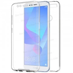 Funda Silicona 3D Huawei Y6 (2018) / Honor 7A (Transparente Frontal + Trasera)
