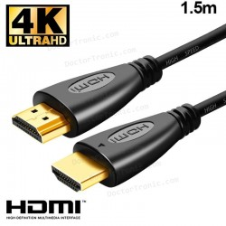 Cable HDMI A HDMI Audio-Video Universal (1.5 Metros) V1.4