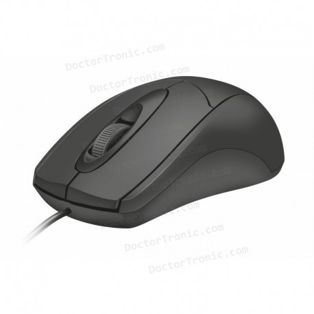 Ratón óptico USB TRUST ZIVA - VALIDO DIESTROS Y ZURDOS