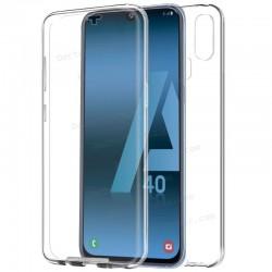 Funda Silicona 3D Samsung G970 Galaxy S10e (Transparente Frontal + Trasera)