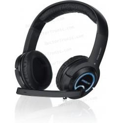 Auriculares Stereo con micrófono Micrófono para Sony PS4, PlayStation 4 y Gamers Speed-Link INTL-4475-BK
