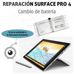 Cambio de batería Microsoft Surface PRO 4