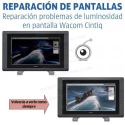 Reparación problemas de pantalla Wacom Cintiq