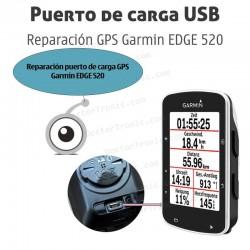 Reparación puerto de carga GPS Garmin EDGE 520