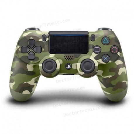 Mando Sony DualShock 4 V2 (Color Verde Camuflaje)