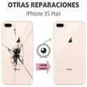 Reparación cristal trasero iPhone XS Max