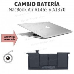 Cambio batería MacBook Air A1465 y A1370 11""
