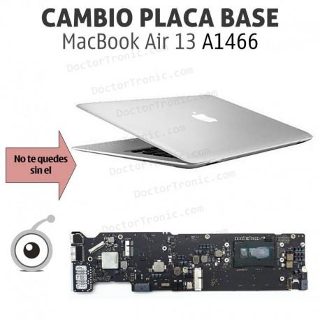 Cambio placa base MacBook Air A1466