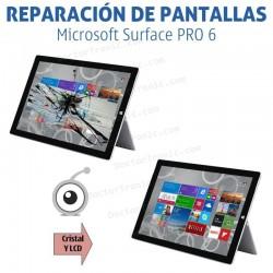 Cambio de pantalla completa Microsoft Surface PRO 6 1796