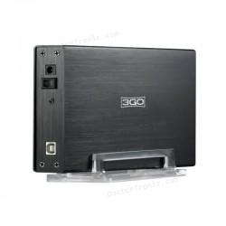 "Caja Externa USB - DISCOS DUROS HDD35BKIS - 3.5""/8.89CM - INTERFAZ SATA+IDE - USB 2.0"
