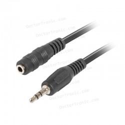 Cable alargador auriculares, jack 3.5mm 3 METROS