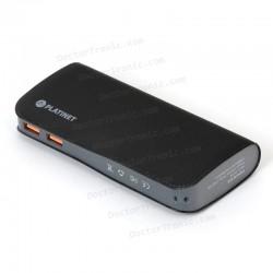 Bateria Externa Universal Power Bank 15.000 MAh Platinet Qualcomm 2 X Usb (Carga Rápida)
