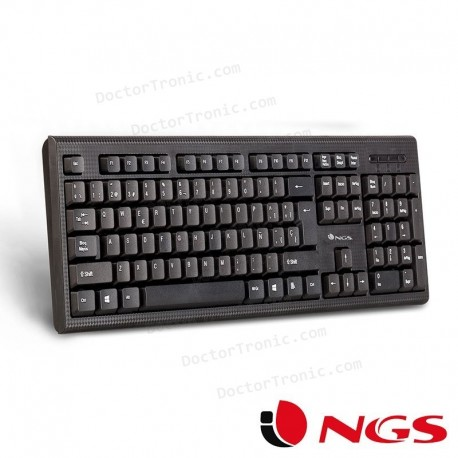 Teclado USB PC Funky V2 NGS Negro