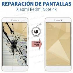 Reparación cambio pantalla Xiaomi Redmi Note 4x