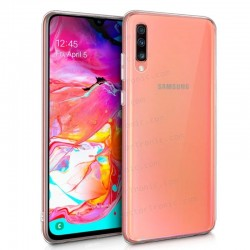 Funda Silicona Samsung A705 Galaxy A70 (colores)