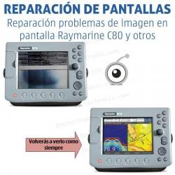 Reparación problemas de imagen Raymarine C80