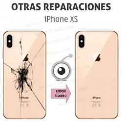 Reparación cristal trasero iPhone XS