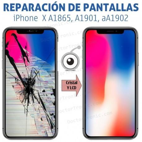 Reparación Pantalla iPhone X A1865, A1901, A1902