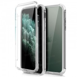 Funda Silicona 3D IPhone 11 Pro Max (Transparente Frontal + Trasera)