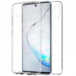 Funda Silicona 3D Samsung N975 Galaxy Note 10 Plus (Transparente Frontal + Trasera)