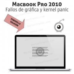 Problemas fallos de gráfica y kernel panic en Macbook Pro 2010