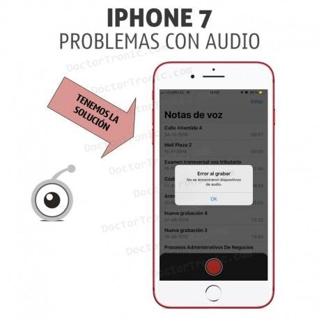 iPhone 7 Problemas con Audio, sin audio en llamadas