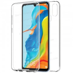 Funda Silicona 3D Huawei P30 Lite (Transparente Frontal + Trasera)