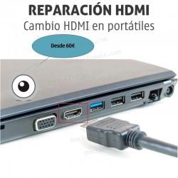 Cambio / reparacion HDMI portátil