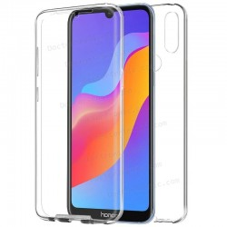 Funda Silicona 3D Huawei Y6 (2019) / Honor 8A (Transparente Frontal + Trasera)