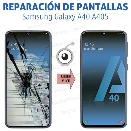 Reparación pantalla Samsung Galaxy A40 A405