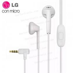 Auriculares 3,5 Mm Universal Original LG Jack 3,5 Mm