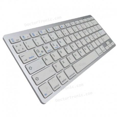 Teclado Bluetooth Español Tablet / SmartPhone APPROX - PLATA - BT 3.0