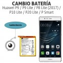 Cambio batería Huawei P9 / P9 Lite / P8 Lite (2017) / P10 Lite / P20 Lite / P Smart