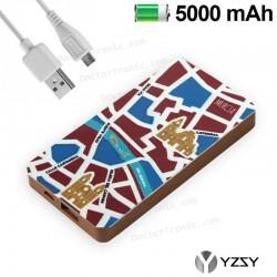 Batería Externa Micro-Usb Power Bank 5000 MAh City Murcia YZSY