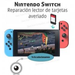 Reparación lector de tarjetas para juegos de nintendo switch