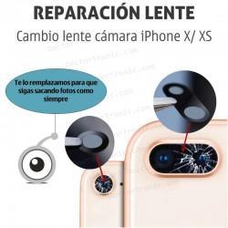 Cambio lente cámara iPhone X/ XS