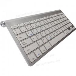 Teclado Bluetooth Español Tablet / SmartPhone SUBBLIM 2PUC100 PURE COMPACT SILVER