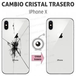 Reparación cristal trasero iPhone X