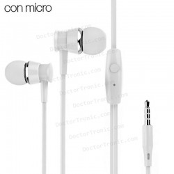 Auriculares 3,5 Mm COOL Heavy Bass Stereo Con Micro