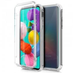 Funda Silicona 3D Samsung M205 Galaxy M20 (Transparente Frontal + Trasera)