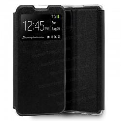 Funda Flip Cover Samsung G770 Galaxy S10 Lite Liso Negro