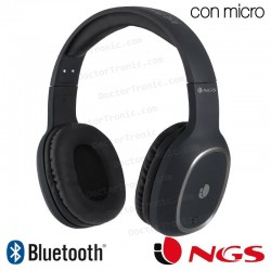 Auriculares Stereo Bluetooth Cascos NGS Artica Pride Black