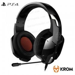 Auriculares Stereo Para PC Krom Kopa (+ Adapt. PS4)