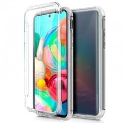Funda Silicona 3D Samsung A715 Galaxy A71 (Transparente Frontal + Trasera)