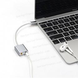 TARJETA DE SONIDO EXTERNA USB tipo C