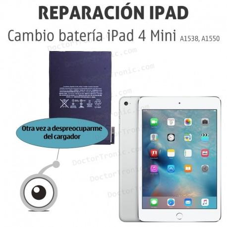 Cambio batería iPad 4 Mini (A1538, A1550 )