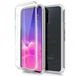 Funda Silicona 3D Samsung G770 Galaxy S10 Lite (Transparente Frontal + Trasera)