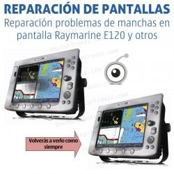Reparación problemas de imagen Raymarine e120