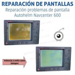 Reparación problemas de imagen Autohelm Navcenter 600